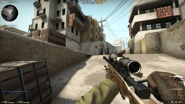 Скриншот игры CS GO (Counter-Strike Global Offensive)